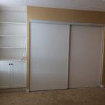 9216 Master Bed Closet wall