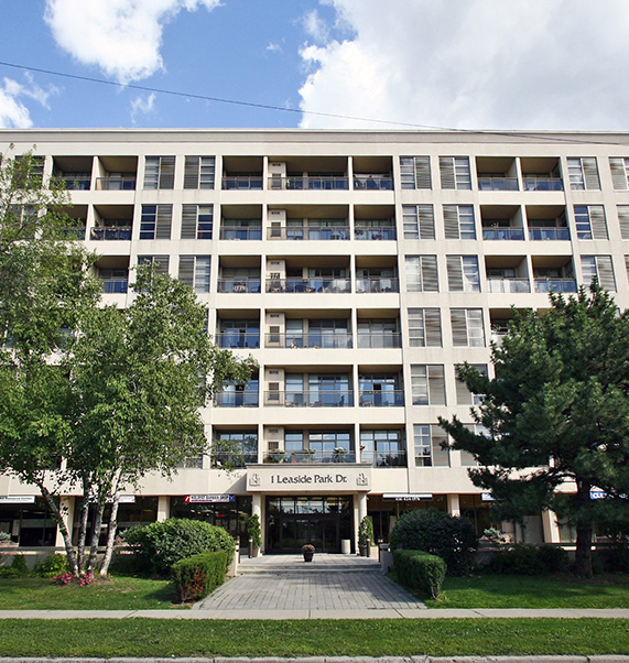 Currently for Sale 1 Leaside Park Dr. #307