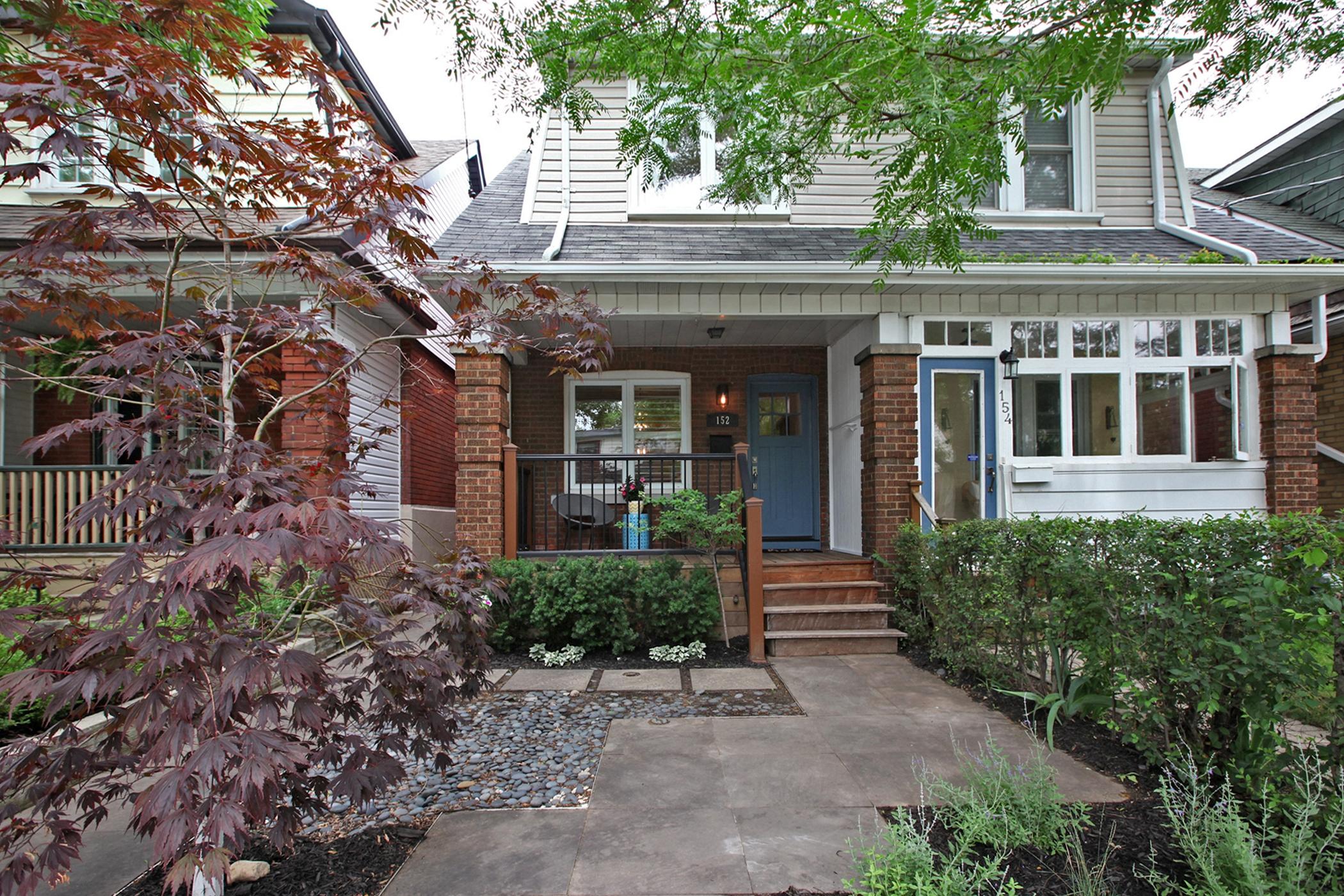 152 Milverton Blvd Toronto ON-print-029-022-Exterior Front-2100x1400-300dpi